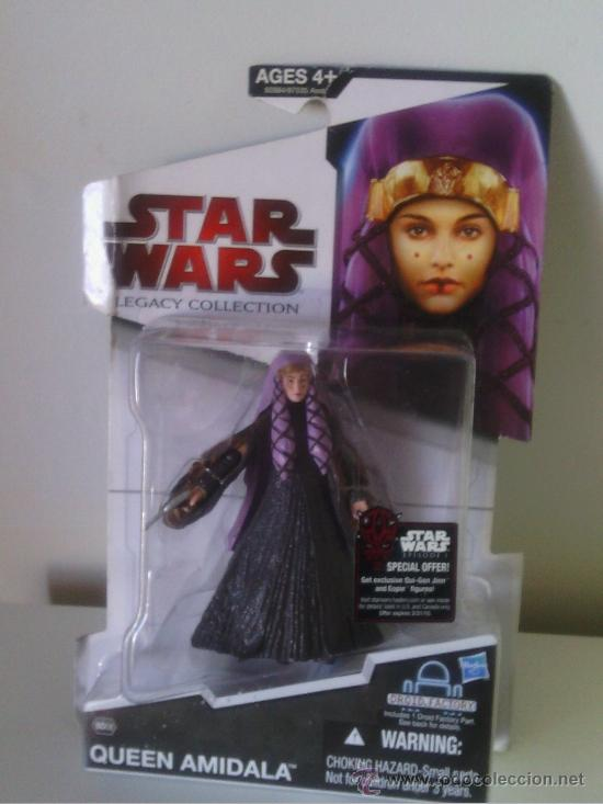 Figuren von Star Wars: star wars legacy collection blister amidala - Foto 1 - 37855373