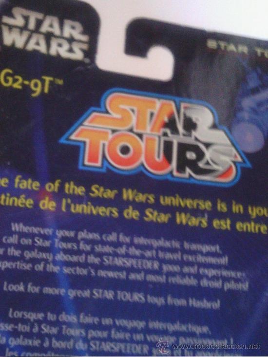 Figuras y Muñecos Star Wars: STAR WARS Star Tours Collection G2-9T - Foto 2 - 37855810