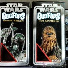 Figuras y Muñecos Star Wars: LOTE 2 CAJAS VACIAS DE LAS SERIES 1 Y 3 DE LA COLECCIÓN DE MINI-BUSTOS DE GENTLE GIANT. .. Lote 37927266