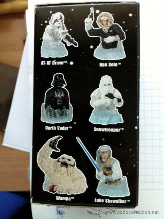 Figuras y Muñecos Star Wars: Lote 5 cajas VACIAS de las serie 5 de la colección de mini-bustos de Gentle Giant. En . - Foto 2 - 37927131