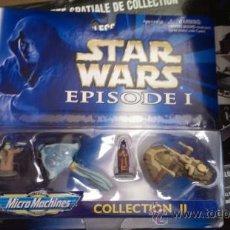 Figuras y Muñecos Star Wars: STAR WARS MICROMACHINES FIGURAS. Lote 38612223
