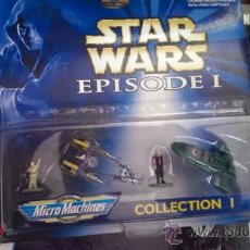 Figuras y Muñecos Star Wars: STAR WARS MICROMACHINES FIGURAS. Lote 38612238
