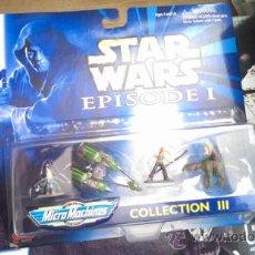 Figuras y Muñecos Star Wars: STAR WARS MICROMACHINES FIGURAS. Lote 38612249