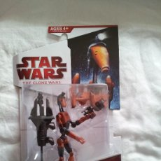 Figuras y Muñecos Star Wars: BATTLE DROID STAR WARS THE CLONE WARS GEORGE LUCAS. GUERRA DE LAS GALAXIAS. Lote 38996921
