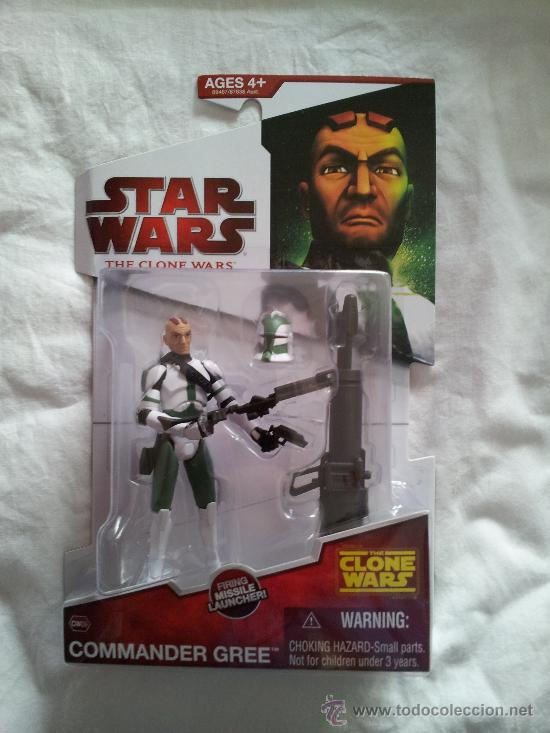 Commander gree star wars the clone wars george - Sold