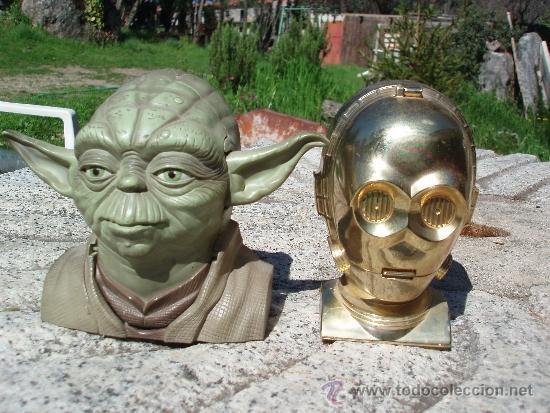 STAR WARS. YODA Y C3PO (Juguetes - Figuras de Acción - Star Wars)