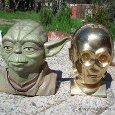 Figuras y Muñecos Star Wars: STAR WARS. YODA Y C3PO. Lote 39077595