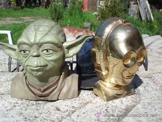 Figuras y Muñecos Star Wars: Star wars. Yoda y C3PO - Foto 5 - 39077595