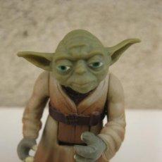 Figuras y Muñecos Star Wars: MAESTRO YODA - STAR WARS - FIGURA ARTICULADA DE PVC - KENNER - LFL - AÑO 1995.. Lote 39091237