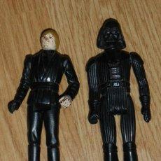 Figuras y Muñecos Star Wars: FIGURAS DE DARTH VADER Y LUKE SKYWALKER - ARTICULACIONES FLOJAS, MIDEN 10,5 CMS DE ALTO.. Lote 39406724
