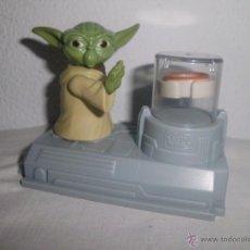 Figuras y Muñecos Star Wars: MUÑECO FIGURA YODA STARWARS STAR WARS LA GUERRA DE LAS GALAXIAS GOMA PVC. Lote 39628508