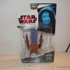 Figuras y Muñecos Star Wars: FIGURA STAR WARS DARTH SIDIOS BLISTER SIN ABRIR HASBRO. Lote 39746739