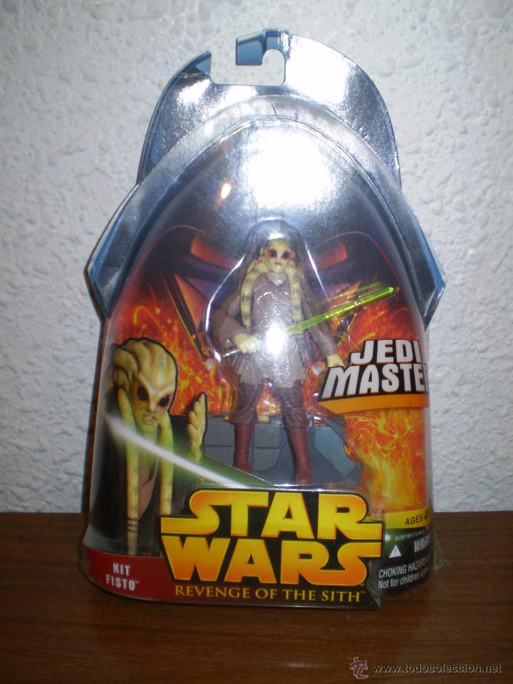Blister Star Wars Kit Fisto Revenge Of The Si Sold Through Direct Sale 39812420