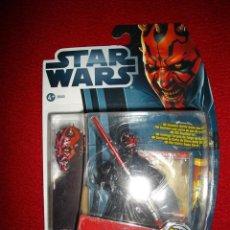 Figuras y Muñecos Star Wars: FIGURA STAR WARS DARTH MAUL MOVIE HEROES 36568 NUEVA EN SU BLISTER. Lote 43643652