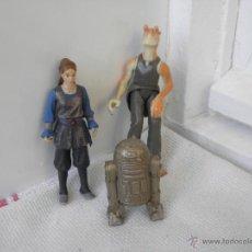 Figuras y Muñecos Star Wars: LOTE DE FIGURAS STAR WARS DE HASBRO PVC R2D2 C3PO. Lote 139597826