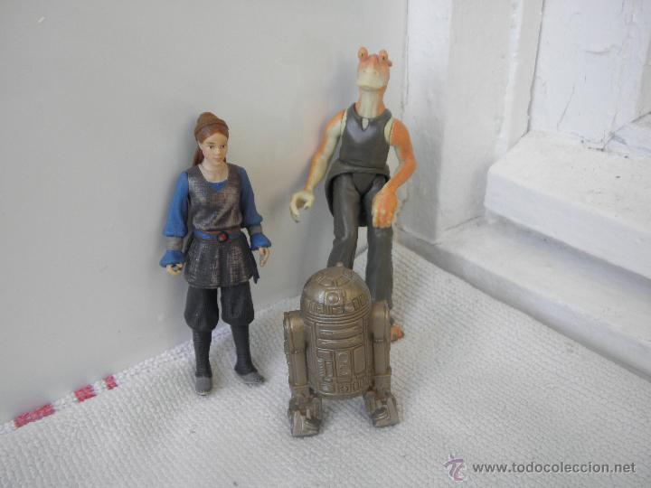 Figuras y Muñecos Star Wars: lote de figuras star wars de hasbro pvc r2d2 c3po - Foto 2 - 139597826