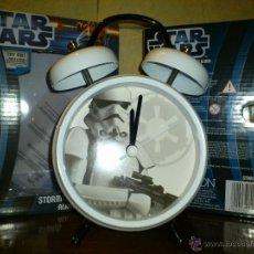 Figuras y Muñecos Star Wars: STAR WARS - RELOJ - DESPERTADOR - STORMTROOPER - SOLDADO CLON - GUERRA GALAXIAS - LUCASFILM - NUEVO. Lote 40434065