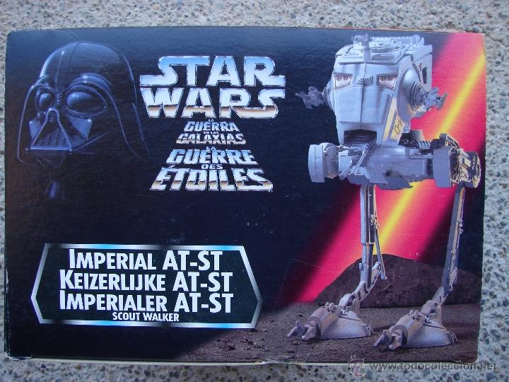 Recambios Vintage Star Wars At-at Walker de la pierna 1981 Imperial