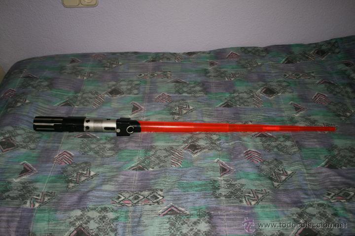 Figuras y Muñecos Star Wars: star wars sable laser darth vader hasbro 2006 starwars - Foto 2 - 41204525