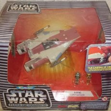 Figuras y Muñecos Star Wars: STAR WARS MICROMACHINES, A-WING, C3PO, PILOT, 1995. Lote 41398304