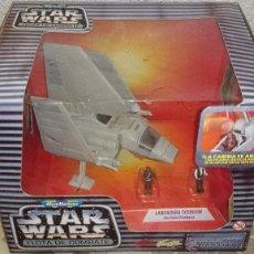 Figuras y Muñecos Star Wars: STAR WARS MICROMACHINES, TYDIRIUM LAUNCHER,HAN SOLO, CHEWBACCA, 1995. Lote 41398366