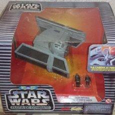 Figuras y Muñecos Star Wars: STAR WARS MICROMACHINES, DARTH VADER TIE, TIE PILOT, 1995. Lote 41398405