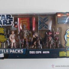 Figuras y Muñecos Star Wars: STAR WARS--MOS ESPA ARENA-BATTLE PACK-NUEVO SIN ABRIR-HASBRO-INCLUYE JUEGO DE BATALLA +GAFAS 3D. Lote 41852707