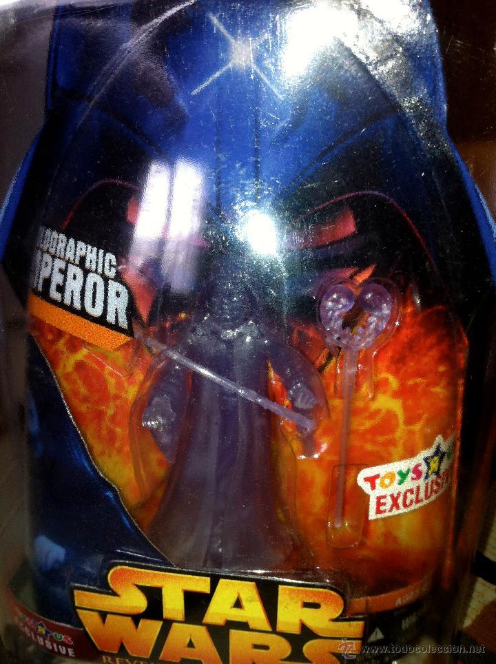 Figuras y Muñecos Star Wars: Exclusiva USA EPISODIO III. HOLOGRAPHIC EMPEROR Toys R us Exclusive. Con envase especial. - Foto 5 - 26979138