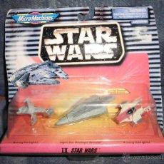 Figuras y Muñecos Star Wars: STAR WARS MICROMACHINES BLISTER IX,NO MOTU. Lote 42465739