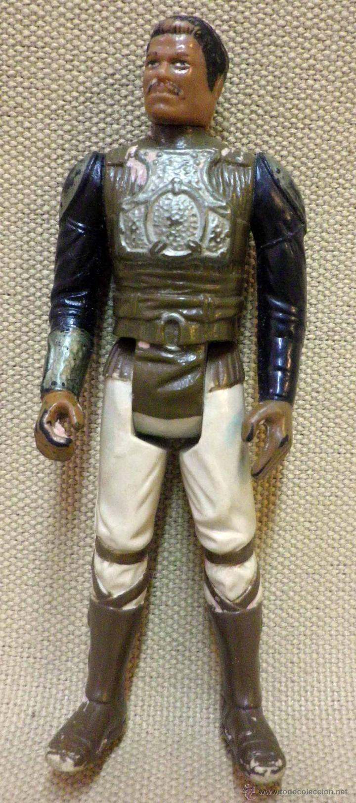 FIGURA STAR WARS LANDO SKIFF GUARD, VINTAGE, AÑOS 80. (Juguetes - Figuras de Acción - Star Wars)