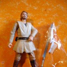 Figuras y Muñecos Star Wars: FIGURA STAR WARS CLONE WARS OBI WAN KENOBI LIGHTSABER .. Lote 42767389