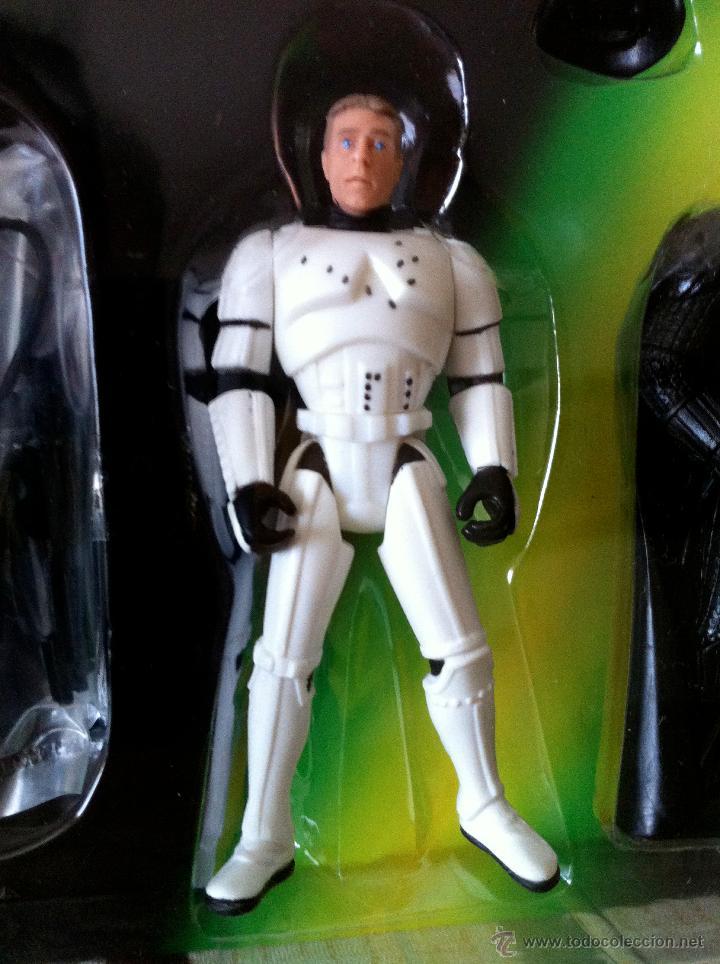 Figuras y Muñecos Star Wars: Star Wars. Figuras exclusivas del juego Star Wars Escape the Death Star Action Figure Game. - Foto 5 - 27217351