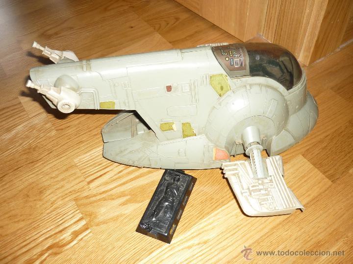 Figuras y Muñecos Star Wars: Nave Star Wars de Boba Fett años 80 Kenner vintage la guerra de las galaxias - Foto 3 - 43446392