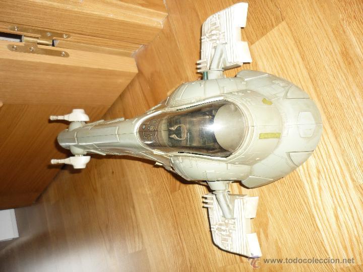 Figuras y Muñecos Star Wars: Nave Star Wars de Boba Fett años 80 Kenner vintage la guerra de las galaxias - Foto 5 - 43446392