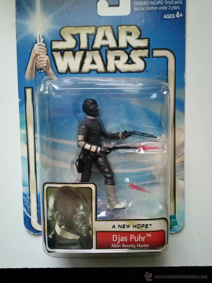 STAR WARS, DJAS PURH , ALIEN BOUNTY HUNTER (Juguetes - Figuras de Acción - Star Wars)