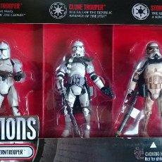 Figuras y Muñecos Star Wars: STAR WARS CLONE TROOPER TO STORMTROOPER EVOLUTIONS. Lote 43683055