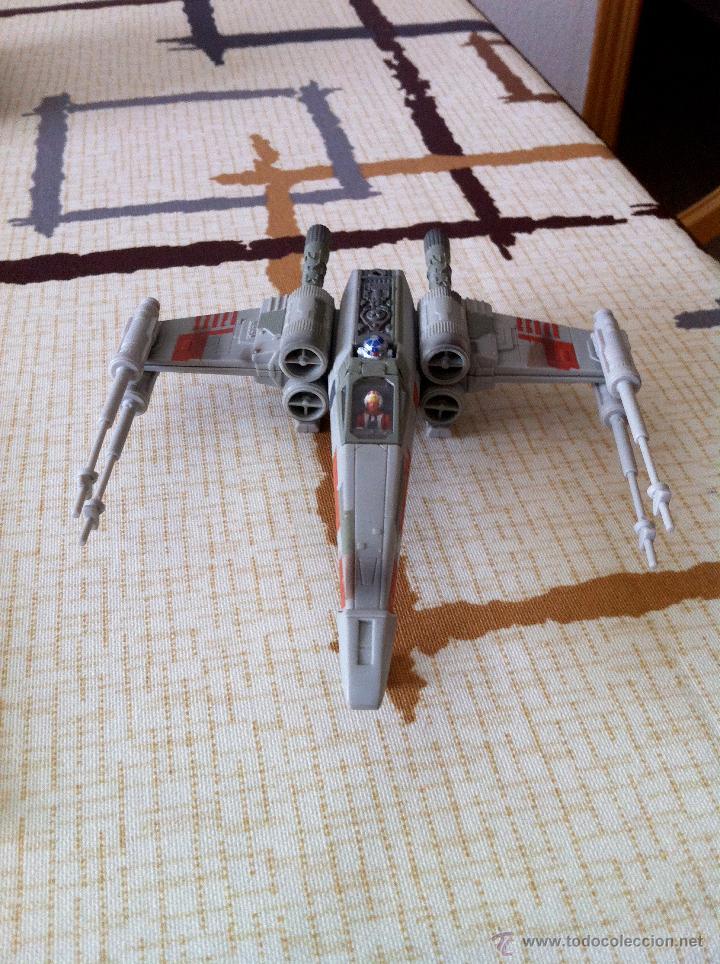 Figuras y Muñecos Star Wars: Nave Action Fleet STAR WARS. X-WINGS. Perfecto. Con peana. - Foto 2 - 44018916