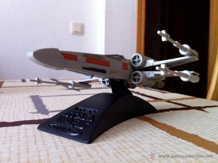 Figuras y Muñecos Star Wars: Nave Action Fleet STAR WARS. X-WINGS. Perfecto. Con peana. - Foto 6 - 44018916