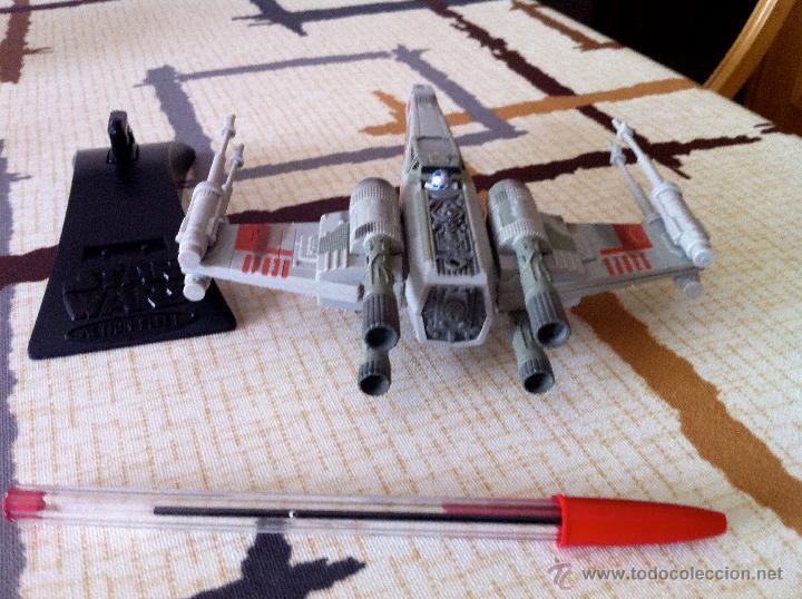 Figuras y Muñecos Star Wars: Nave Action Fleet STAR WARS. X-WINGS. Perfecto. Con peana. - Foto 7 - 44018916