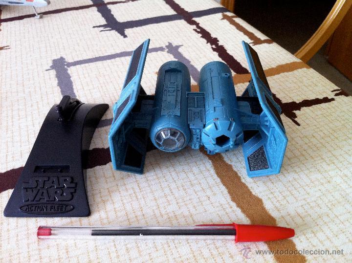 Figuras y Muñecos Star Wars: Nave Action Fleet STAR WARS. TIE BOMBER. Perfecto. Con misil incluido. - Foto 5 - 31935039