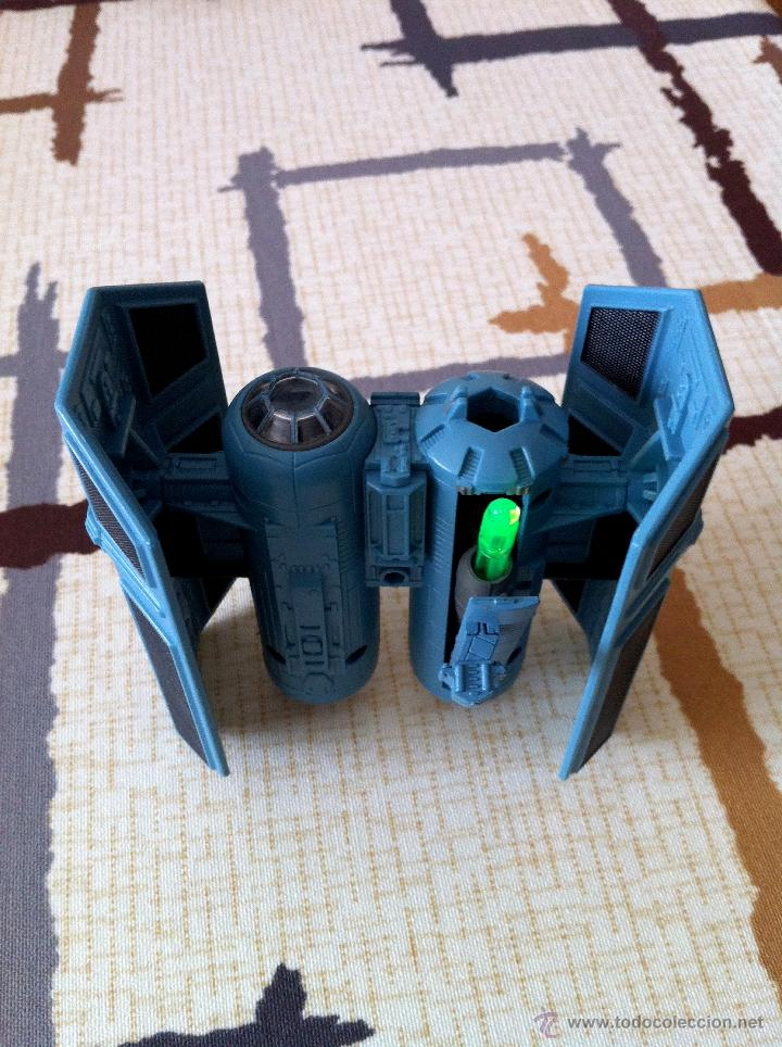 Figuras y Muñecos Star Wars: Nave Action Fleet STAR WARS. TIE BOMBER. Perfecto. Con misil incluido. - Foto 8 - 31935039
