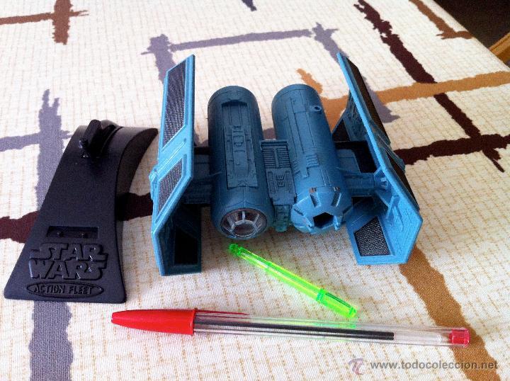 Figuras y Muñecos Star Wars: Nave Action Fleet STAR WARS. TIE BOMBER. Perfecto. Con misil incluido. - Foto 9 - 31935039