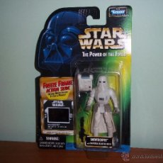 Figuras y Muñecos Star Wars: STAR WARS THE POWER THE FORCE SNOWTROOPER DE KENER 1997. Lote 44691319