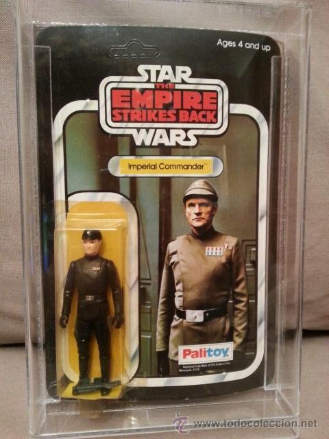 STAR WARS VINTAGE PALITOY 1981 - IMPERIAL COMMANDER - ESB - MOC - 41 BACK (Juguetes - Figuras de Acción - Star Wars)