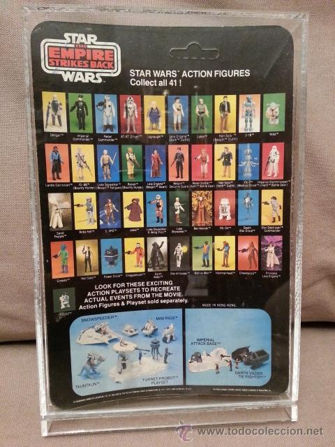 Figuras y Muñecos Star Wars: STAR WARS VINTAGE PALITOY 1981 - IMPERIAL COMMANDER - ESB - MOC - 41 back - Foto 2 - 45025528