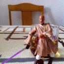 Figuras y Muñecos Star Wars: MACE WINDU AL ATAQUE EN LA BATALLA DE GEONOSIS. FIGURA CON ESPADA DE EMPUÑADURA METÁLICA.. Lote 45226003