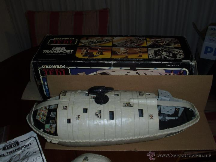 Figuras y Muñecos Star Wars: woww impresionante, jajaja he parado el reloj 1983 - Foto 4 - 45876019