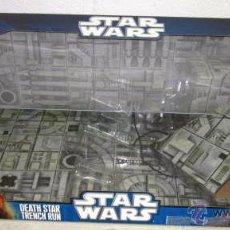 Figuras y Muñecos Star Wars: GRAN CAJA DIORAMA STARWARS VACIA - SET EXCLUSIVO, CAJA EXPOSITORA TIPO DIORAMA. Lote 46110449