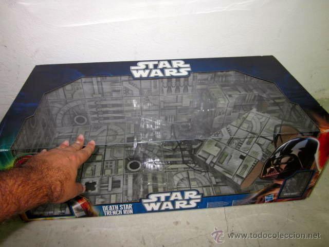 Figuras y Muñecos Star Wars: GRAN CAJA DIORAMA STARWARS VACIA - SET EXCLUSIVO, CAJA EXPOSITORA TIPO DIORAMA - Foto 3 - 46110449