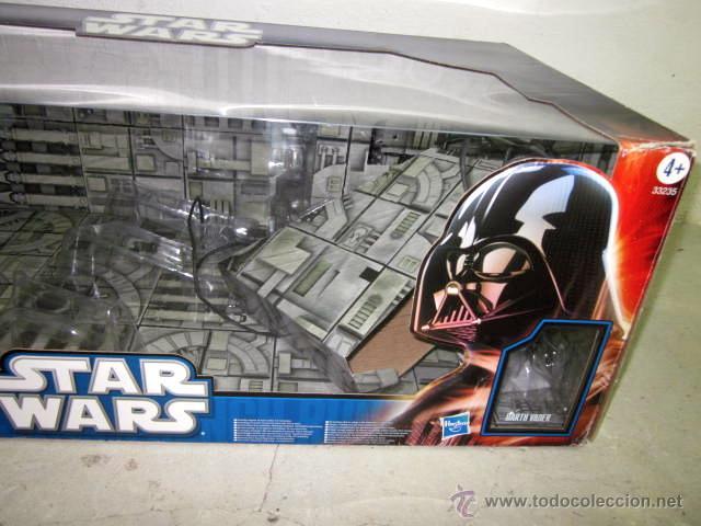 Figuras y Muñecos Star Wars: GRAN CAJA DIORAMA STARWARS VACIA - SET EXCLUSIVO, CAJA EXPOSITORA TIPO DIORAMA - Foto 4 - 46110449